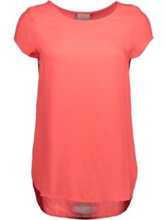 Vero Moda T-shirt BOCA SS BLOUSE COLOR 10104053 Hibiscus