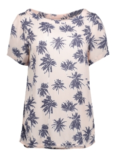 Vila T-shirt VICRUZ T-SHIRT 14042286 Silver Peony