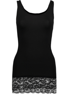 LIVE LOVE LONG LACE TANK TOP NOOS 15072354 Black