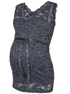 Mama-Licious Positie shirt MLMIVANA WOVEN TANK TOP 20007381 Ombre Blue