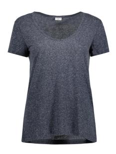 Jacqueline de Yong T-shirt JDYZADA S/S V-NECK TOP JRS 15135878 Mood Indigo