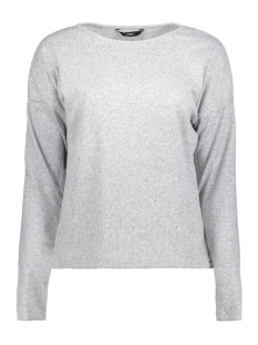 Only Trui onlELCOS RORI L/S TOP JRS 15142350 Light Grey Melange