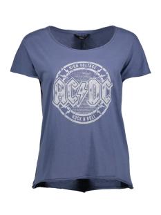 Only T-shirt onlACDC S/S TOP JRS 15145474 Vintage Indigo