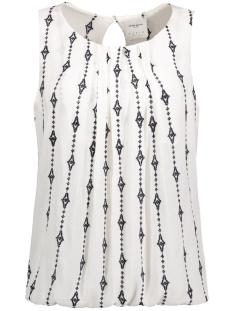 vmjuliana s/l top dnm lcs 10184867 vero moda top snow white/embroidery