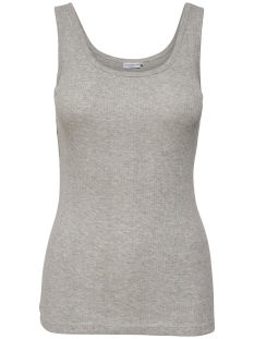 Jacqueline de Yong Top JDYGUMMYBEAR TANK TOP JRS 15132221 Light Grey Mela/Melange
