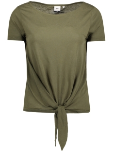 Object T-shirt OBJOLIVIA S/S PULLOVER I. 91 DIV 23024970 Ivy Green