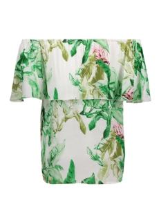 onlmina ariel offshoulder top aop w 15135765 only t-shirt cloud dancer/urban jung