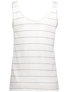 vmlil lemon sl top box dnm jrs 10176989 vero moda top snow white/navy blaze