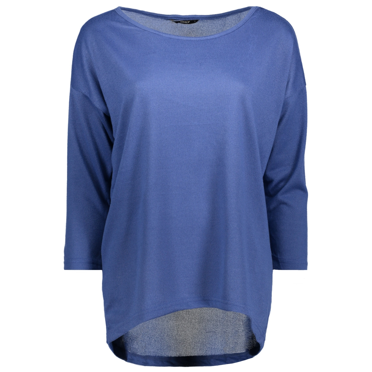 onlelcos 4/5 solid box top jrs 15144983 only trui bijou blue