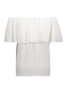 onlmina ariel offshoulder top solid 15135766 only t-shirt cloud dancer