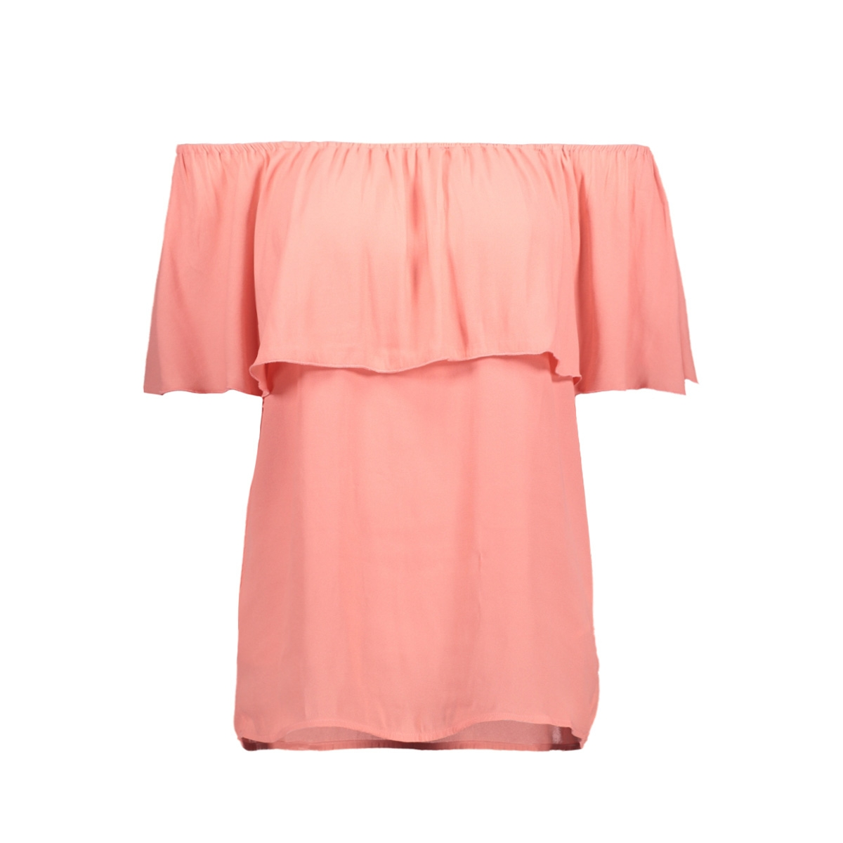 onlmina ariel offshoulder top solid 15135766 only t-shirt strawberry ice
