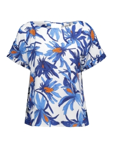 Object T-shirt OBJJILLIAN S/S TOP A HS 23025403 Gardenia
