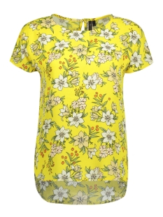 Vero Moda T-shirt VMJENNA S/S TOP NFS 10190230 Empire Yellow
