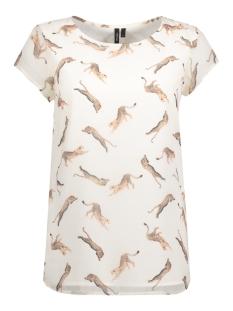 Vero Moda T-shirt VMLIZ S/S SIDE SLIT BOCA FF17 10188890 Snow white