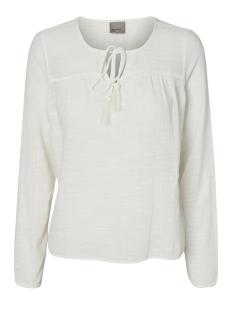 vmina l/s top a 10171493 vero moda blouse snow white