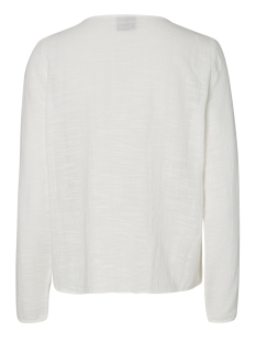 vmina l/s top a 10171493 vero moda blouse snow white