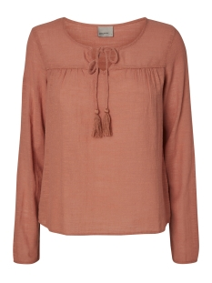 Vero Moda Blouse VMINA L/S TOP A 10171493 Cedar Wood