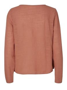 vmina l/s top a 10171493 vero moda blouse cedar wood