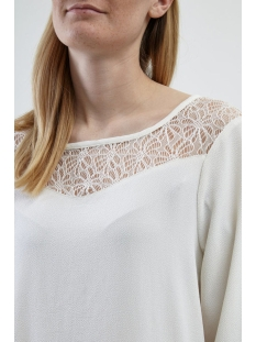 objmatilde 3/4 top 90 23024216 object blouse gardenia