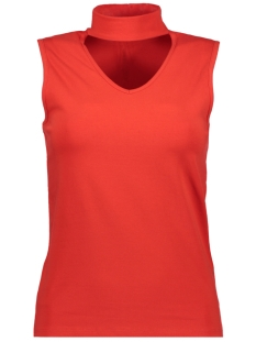 Only Top onlLIVE LOVE CHOKER S/L TOP JRS 15148302 Flame Scarlet