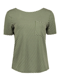 Object T-shirt OBJMAXWELL S/S TOP PB2 23024709 Ivy Green