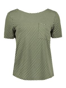 Object T-shirt OBJMAXWELL S/S TOP PB2 23024709 Ivy Green