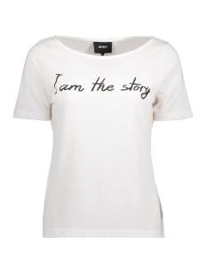 Object T-shirt OBJAMY OLIVIA S/S TOP .I 92 23025036 Gardenia