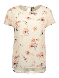 Vero Moda T-shirt VMWILMARA S/S TOP NFS 10191435 Whitecap Gray