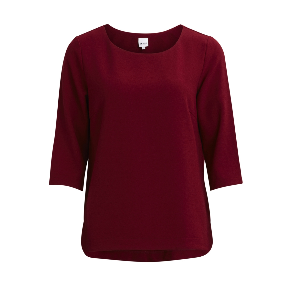 objcorlee 3/4 top noos 23024282 object t-shirt pomegranate