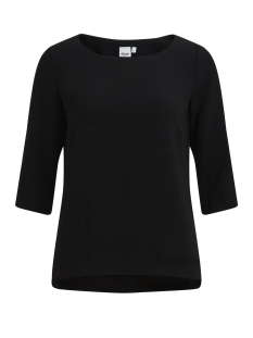 Object T-shirt OBJCORLEE 3/4 TOP NOOS 23024282 Black