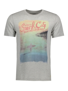Jack & Jones T-shirt JJVSURF SS TEE 12128371 Light Grey Mela