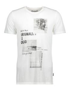 Jack & Jones T-shirt JORROCK TEE SS CREW NECK 12121137 Cloud Dancer/Slim