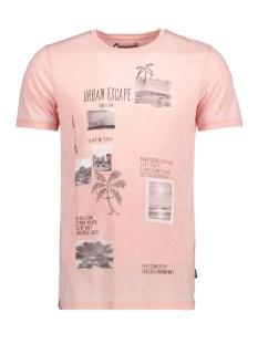 Jack & Jones T-shirt JORROCK TEE SS CREW NECK 12121137 Peach Beige/Slim