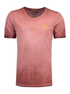 Jack & Jones T-shirt JJVCUBANSURF SS TEE 12132099 Burnt Henna