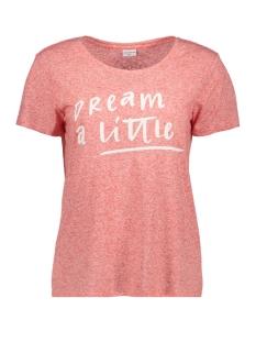 Jacqueline de Yong T-shirt JDYBOLETTE S/S PRINT TOP JRS 15133655 Poinciana/Dream