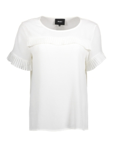 Object T-shirt OBJTOVE S/S TOP 92 23024768 Gardenia