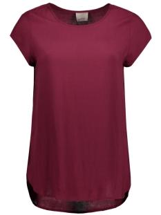 Vero Moda T-shirt BOCA SS BLOUSE NOOS 10104030 Zinfandel