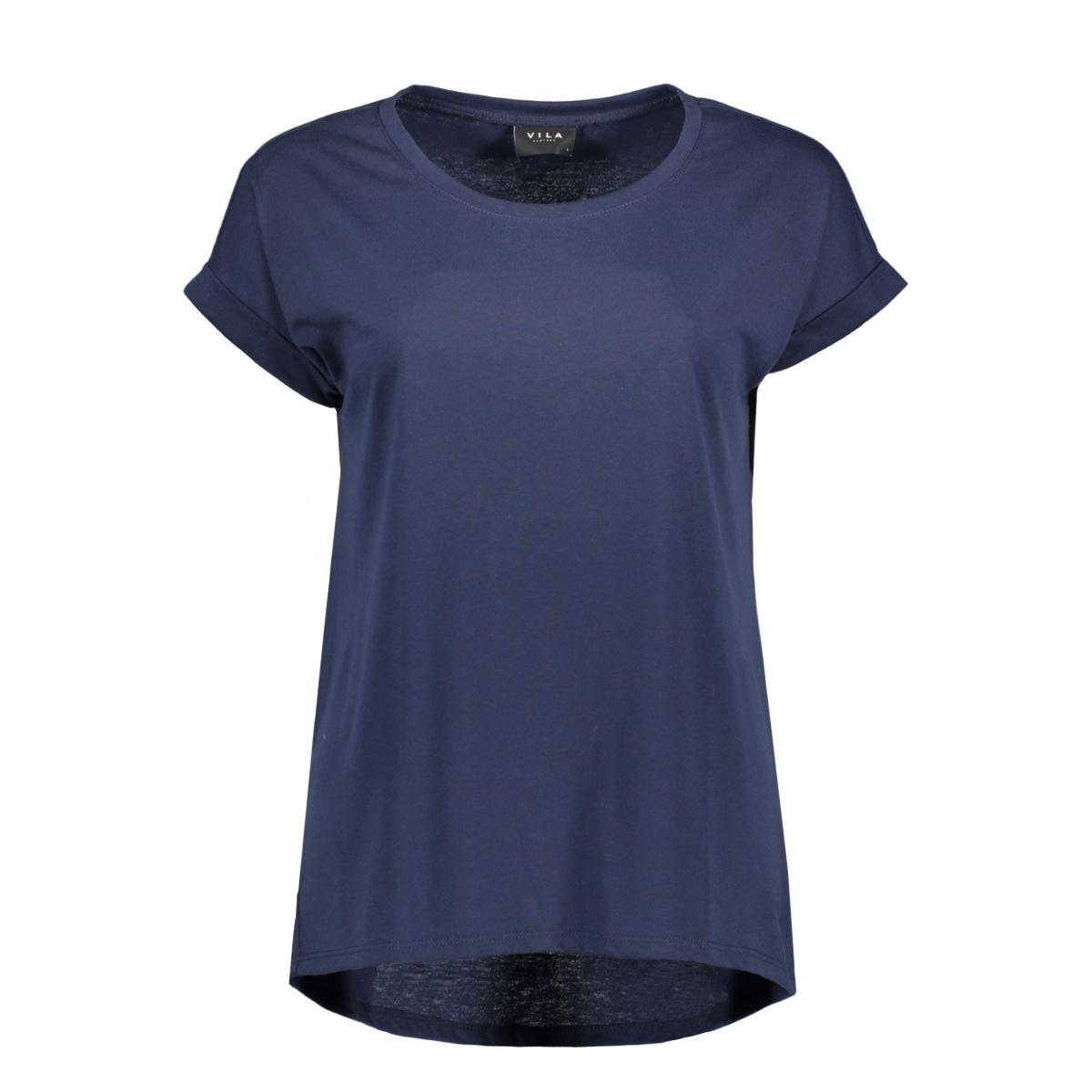 Nieuw Vila T-shirt VIDREAMERS PURE T-SHIRT-NOOS 14025668 Total Eclipse