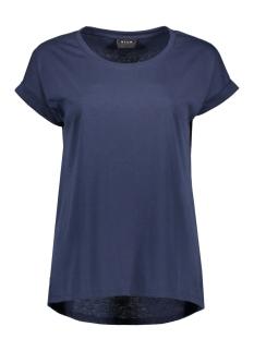 Vila T-shirt VIDREAMERS PURE T-SHIRT-NOOS 14025668 Total Eclipse