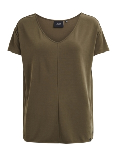 Object T-shirt OBJIBIA S/S TOP NOOS 23025328 Ivy Green