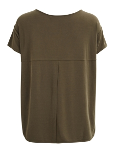 objibia s/s top noos 23025328 object t-shirt ivy green