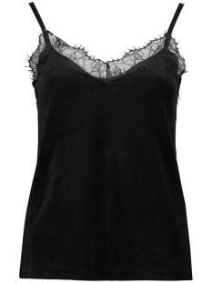 Noisy may Top NMSTELLA S/L CAMI TOP VIPX 10181817 Black
