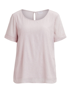 Vila T-shirt VIALEXA S/S TOP/DC 14043420 Peach Whip