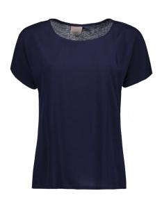 Vero Moda T-shirt VMLEO DREAM SS TEE NFS 10186188 Navy Blazer