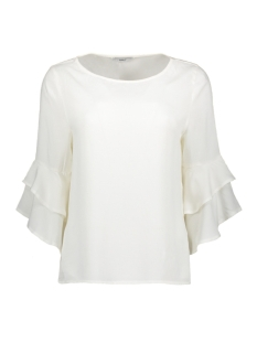 Only Blouse onlSINDI 3/4 BELL SLEEVE TOP WVN 15147792 Cloud Dancer