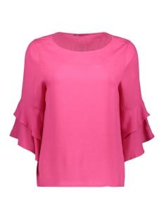 onlsindi 3/4 bell sleeve top wvn 15147792 only blouse fuchsia purple