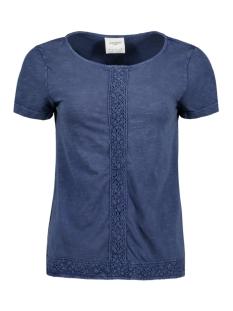 Vero Moda T-shirt VMSPIRIT SS TOP DNM JRS 10177139 Navy Blazer