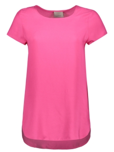 Vero Moda T-shirt BOCA SS BLOUSE COLOR 10104053 Beetroot Purple