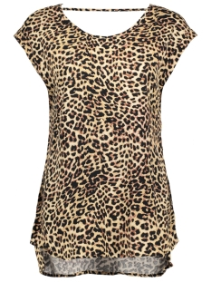 VMNEWMAKER SS OPEN BACK TOP RETAIL 10188451 Snow White/Animal