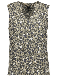 VMBALI S/L TOP NFS 10190977 Ivory Cream/Graphic Le